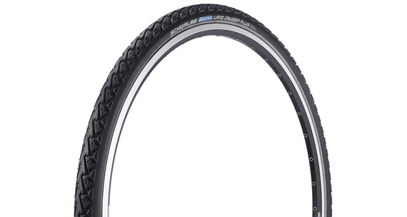 SCHWALBE Land Cruiser Plus band draad reflex zwart